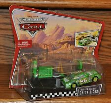 Disney Pixar Cars Pit Row Race Off Chick Hicks Launchers NEW
