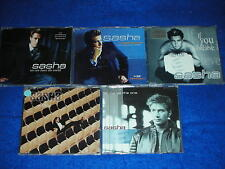 lot 5 CD maxi SASHA let me be the one IF YOU BELIEVE rooftop I FEEL LONELY world