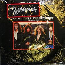 "Whitesnake, Love Ain't No Stranger, NEW/MINT 7"" vinyl single with sew on patch"