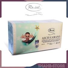 ROIAL ASCIUGAMANI MONOUSO 5 STELLE PREGIATA CARTA ASSORBENTE 60 PZ 40X70 CM