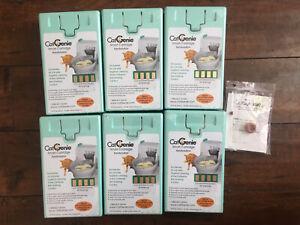 6 CatGenie Smart Cartridges SaniSolution 60 Washings 15 fl oz