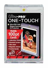 1 Ultra Pro ONE TOUCH MAGNETIC 100pt UV Card Holder Display Case 100 pt
