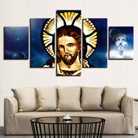 Lord Jesus Poster Wall Art Wisdom Morality Doughty Home Decor 5 pcs Canvas Print