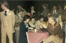 President Jimmy Carter Eating Barbeque Dinner on South Lawn Postcard