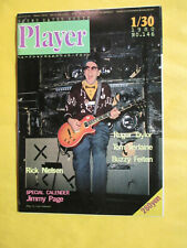 1980 Player Japanese Magazine #146 Rick Nielson Cheap Trick Cover