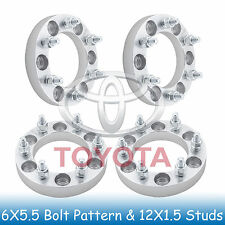 """1"""" Toyota 6 Lug Wheel Spacers 6x5.5 6x139.7 Fits For Tacoma 2001 - 2017"""