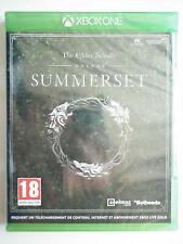 The Elder Scrolls online Summerset Jeu Vidéo XBOX ONE