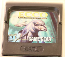 SEGA GAME GEAR  GAMEGEAR ECCO THE TIDES OF TIME  GAME (GAME ONLY)