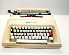 Olivetti Lettera 35 Typewriter with case