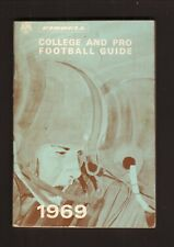 Riddell--1969 College & Pro Football Schedule Booklet