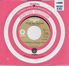 PETER AND GORDON A World Without Love / Nobody I Know 45 (Lennon/McCartney song)