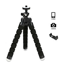 Universal Mini Flexible Stand Tripod Mount With Free Holder For Smart Phone&
