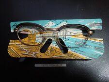K697 NiGuRa Cat Eye 50s Glasses Nos No Glasses See Decr