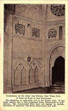 New York City, NY, Cathedral of St. John's Divine, Baptistry - Postcard