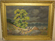 GIOSUE DE BENEDICTIS 'Tree after Storm' LANDSCAPE PASTEL Painting -Arts & Crafts