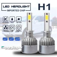 2pcs C6 H1 COB LED Headlight Kit Bulb 24000LM 120W Hi/Lo Beam Fog Light 6000K