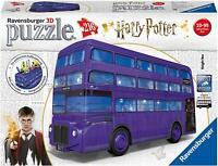 NEW! Ravensburger 3D Puzzle Harry Potter Knight Bus 216 piece jigsaw puzzle