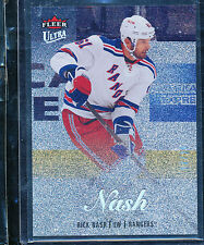 2013-14 FLEER SHOWCASE ULTRA PLATINUM /25 RICK NASH MEDALLION