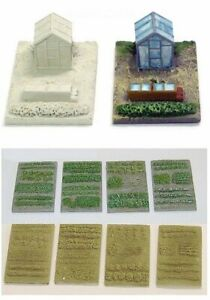 N Scale Allotment or Gardens (NS8 & NS1)