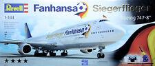 BOEING 747-8 LUFTHANSA FANHANSA SIEGERFLIEGER, 2014  - KIT REVELL 1/144 n° 01111