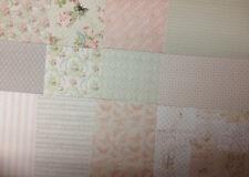 12 foglio di degustazione Confezione 6 x 6 Dovecraft Floreale Muse carta di supporto Card Making Craft