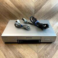 Panasonic NV-HV61 Video Cassette Recorder Player VHS VCR, Super LP, Jet Search