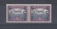 South West Africa 1950 2d Official Bi-Lingual Pair SG045 MNH JK135