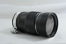 VINTAGE EXAKTA MOUNT AUTO CASPECO 200MM F3.5 TELEPHOTO CAMERA LENS