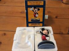 New 1999 Walt Disney Lorus Watch Mickey Mouse Collectible Gift Figure Figurine!