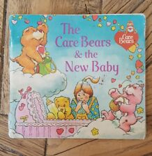 Vintage 1983 CARE BEARS & THE NEW BABY Book ~ New Sibling Big Sister Adjustment