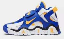 NIKE AIR BARRAGE MID MENS TRAINERS SHOES UK 13 EUR 48.5 US 14  Blue White