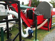 KONGSKILDE CLIP              WOOD PROCESSOR SAWDUST  CHIP BLOWER CYCLONE PIPES