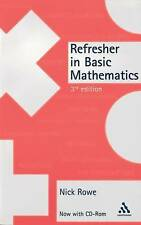 Refresher in Basic Mathematics with CDROM-ExLibrary