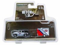 Greenlight - 1:64 2015 Jeep Wrangler Unlimited & Small Trailer (BBGL32180B)
