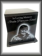 Original Handmade Cremation Urn Human Custom Engraved 150 CU Inch Mother