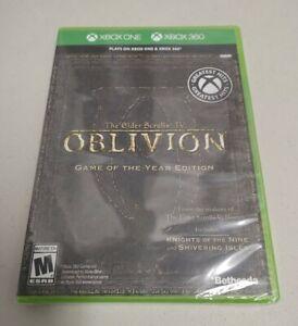Elder Scrolls IV: Oblivion GOTY - Microsoft Xbox One - NEW - FACTORY SEALED