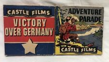 Lot Of 2 CASTLE FILMS Super 8 - Victory Over Germany & Adventure Parade