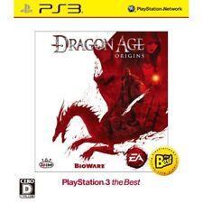 Used PS3 Dragon Age: Origins Best Version Japan Import
