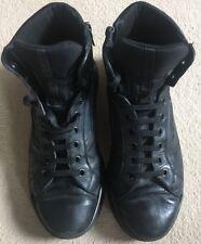 PRADA (4T2802) Authentic Men's Black Boots UK Size 10