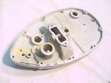 TRIUMPH CUB T20 INNER TIMING SIDE COVER PART # E3141 CAST IN IT GOOD USED WITH N