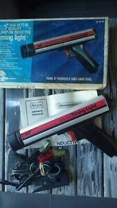 Vintage SEARS Engine tune-up timing light auto service gm car street rat hot rod
