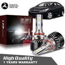 2X 9012 LED Headlight High Low Beam Bulb HID for Chrysler 200 300 2011-2015