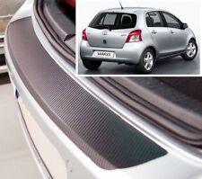 Toyota Yaris MK2 - Carbon Style rear Bumper Protector