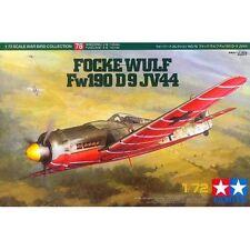 Tamiya 60778 Focke-Wulf Fw190 D-9 JV44 1/72 scale plastic model kit