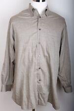 John W. Nordstrom Mens Long Sleeve Shirt L 100% Cotton