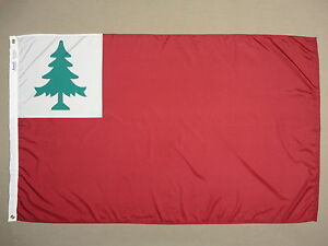 Continental Pine Tree Indoor Outdoor Dyed Nylon Flag Grommets All Sizes