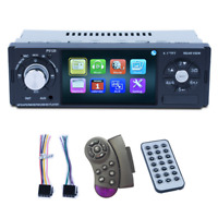 4.1Zoll HD Kfz Stereo Audio MP5 Player Set Aux In Radio IR Lenkradfernbedienung