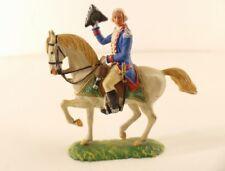 Elastolin n° 9130 Officier zu Pferd américain cheval 7 cm ancien rare