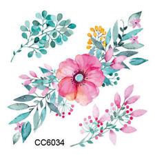 Fiore Piccolo Fiore Tattoo Tatuaggio Temporaneo Tatuaggio Fiore Rosa Carino Acquerello