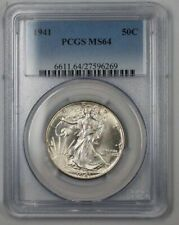 1941 Walking Liberty Silver Half Dollar Coin 50c PCGS MS-64 1B (Better Coin)